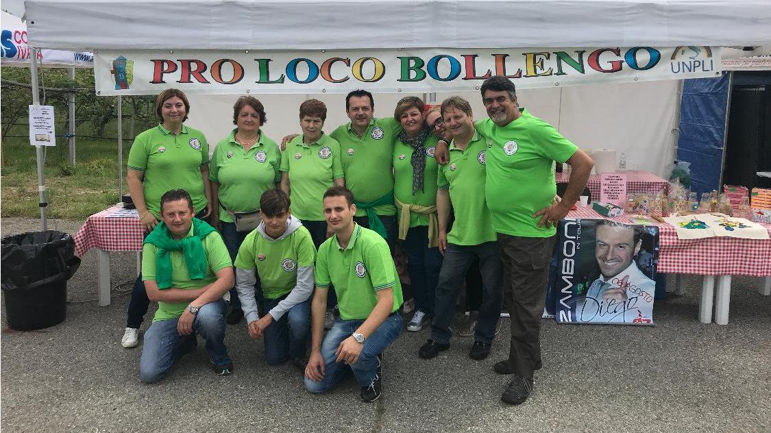 Festa con l'Associazione Pro Loco Bollengo