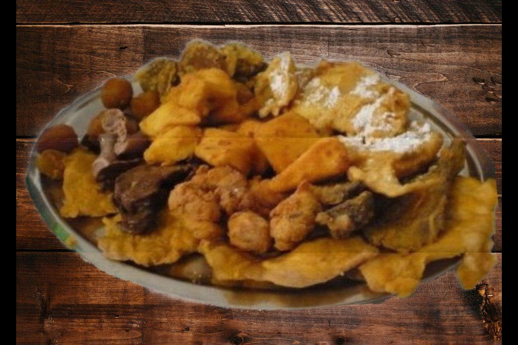 Le specialità della Pro Loco fritto misto
